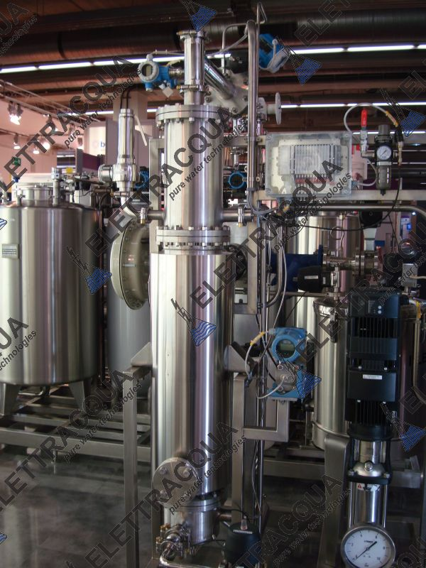 Pharmaceutical: Pure steam Generator - ELETTRA LP-PS 8